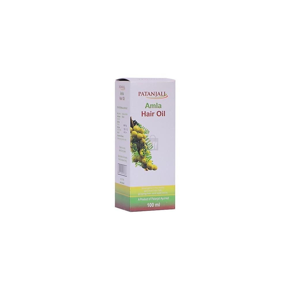 Patanjali Amla Hair Oil, 100 ml - Patanjali Products Online at Ayurvedmart
