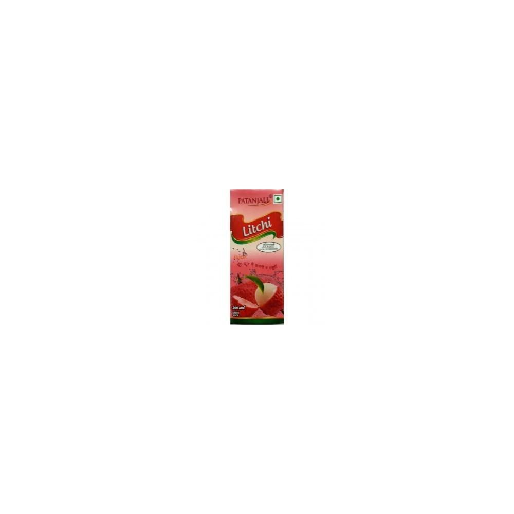 Patanjali LITCHI JUICE, 200 ml