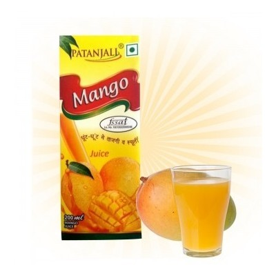 Patanjali MANGO JUICE, 200 ml