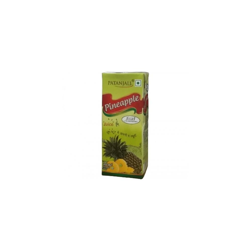 Patanjali PINE APPLE JUICE, 200 ml