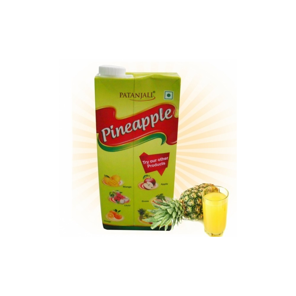 Patanjali PINE APPLE JUICE, 1000 ml