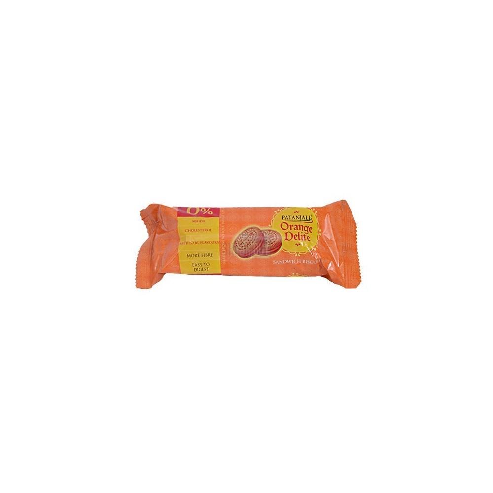 Patanjali ORANGE DELITE BISCUIT, 100 gm