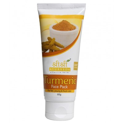 Sri Sri TURMERIC FACE PACK, 60 gm