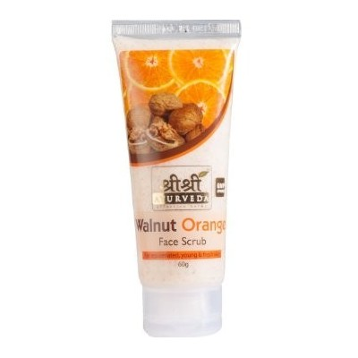 Sri Sri WALNUT ORANGE SCRUB, 60 ml