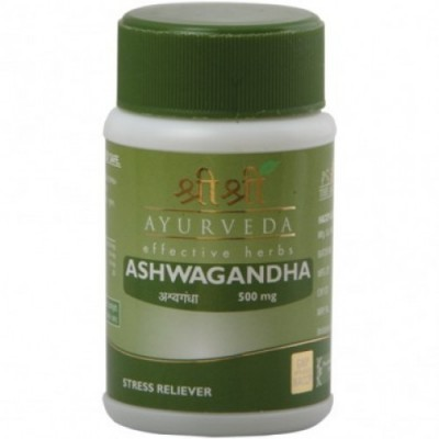 Sri Sri ASHWAGANDHA Tablet, 60 Tab