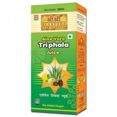 Sri Sri ALOE VERA TRIPHALA JUICE, 500 ml