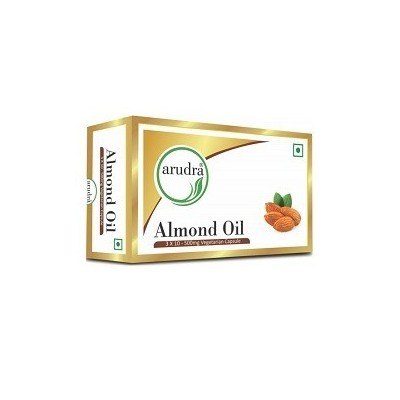 Sri Sri ALMOND OIL IN VEG CAPSULES, 30 Caps