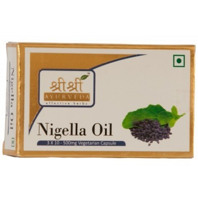 Sri Sri NIGELLA OIL IN VEG CAPSULES, 30 Caps