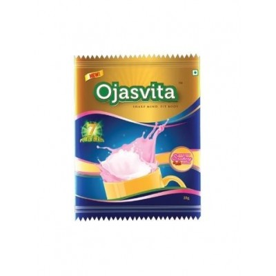 Sri Sri OJASVITA STRAWBERRY 2 CUP SACHET, 25 gm