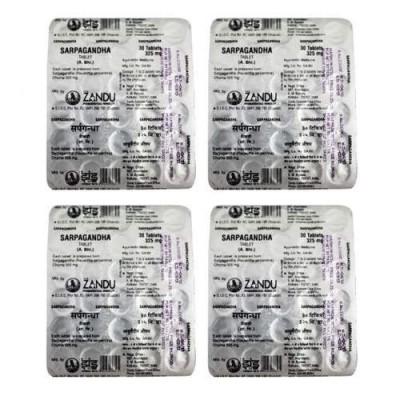 Zandu Sarpagandha Tablets