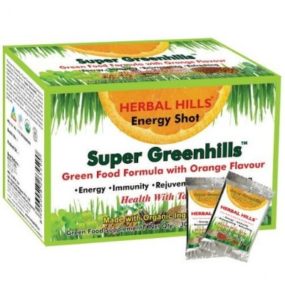 Super Greenhills Orange Flavour 2g X 30 Sachets Powder