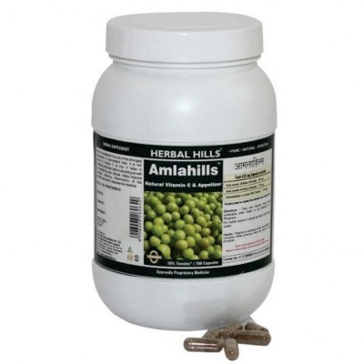 Herbal Hills Amla Tablets, 700 Tabs