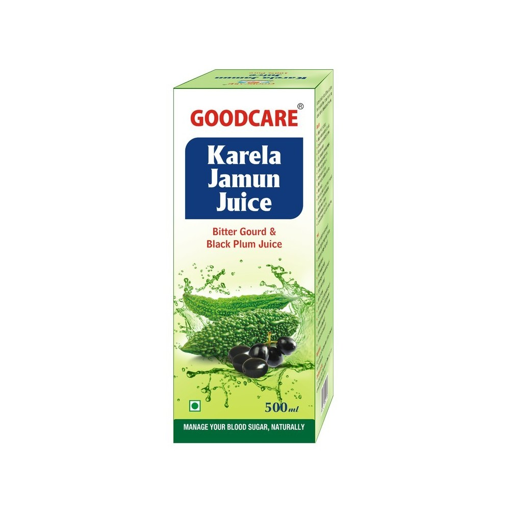 Goodcare KARELA JAMUN JUICE, 1 LTR