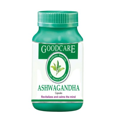 Goodcare ASHWAGANDHA CAPS, 60 caps