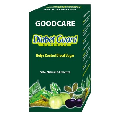 Goodcare DIABET GUARD CAPS, 120 caps