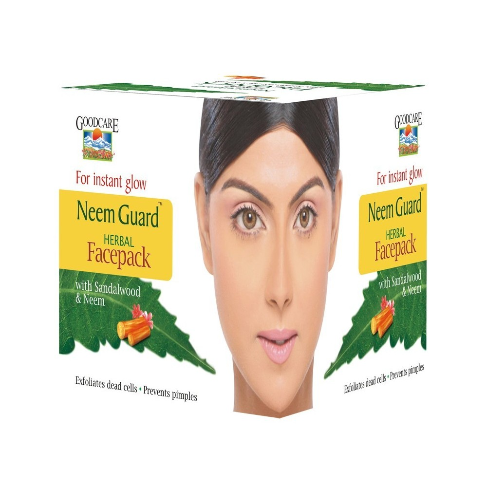 Goodcare NEEM GUARD HERBAL FACE PACK, 50 GM