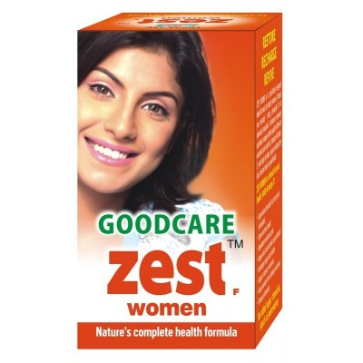 Goodcare ZEST WOMEN, 60 caps