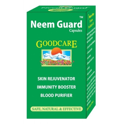 Goodcare NEEM GUARD CAPS, 60 caps