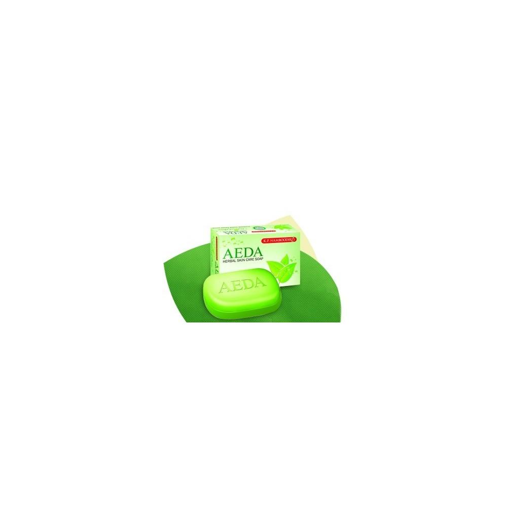 AEDA Herbal Soap Thulsi & Neem, 75gm