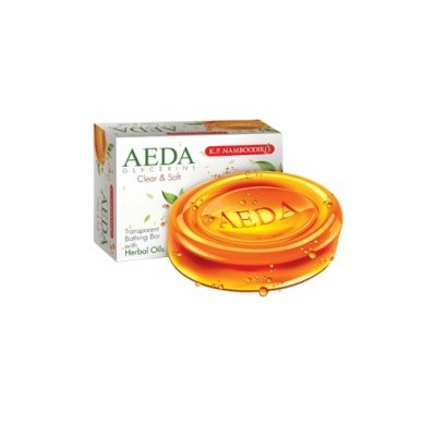 AEDA Glycerine Bathing Bar Clear & Soft, 75gm