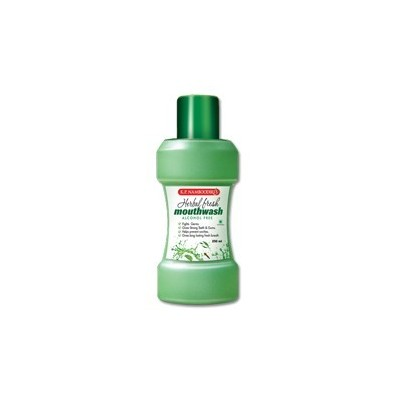 K P Namboodiris Herbal Fresh Mouth Wash, 250ml