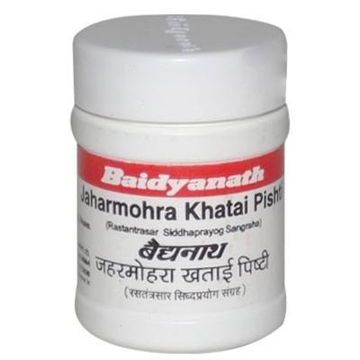 Baidyanath JAHARMOHRA KHATAI PISHTI, 5 GM