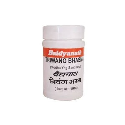 Baidyanath TRIVANGA BHASMA, 10 GM