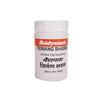 Baidyanath TRIVANGA BHASMA, 5 GM