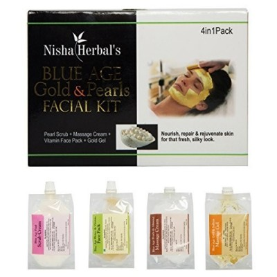 Nisha herbal Blue Age & Pearl Facial Kit