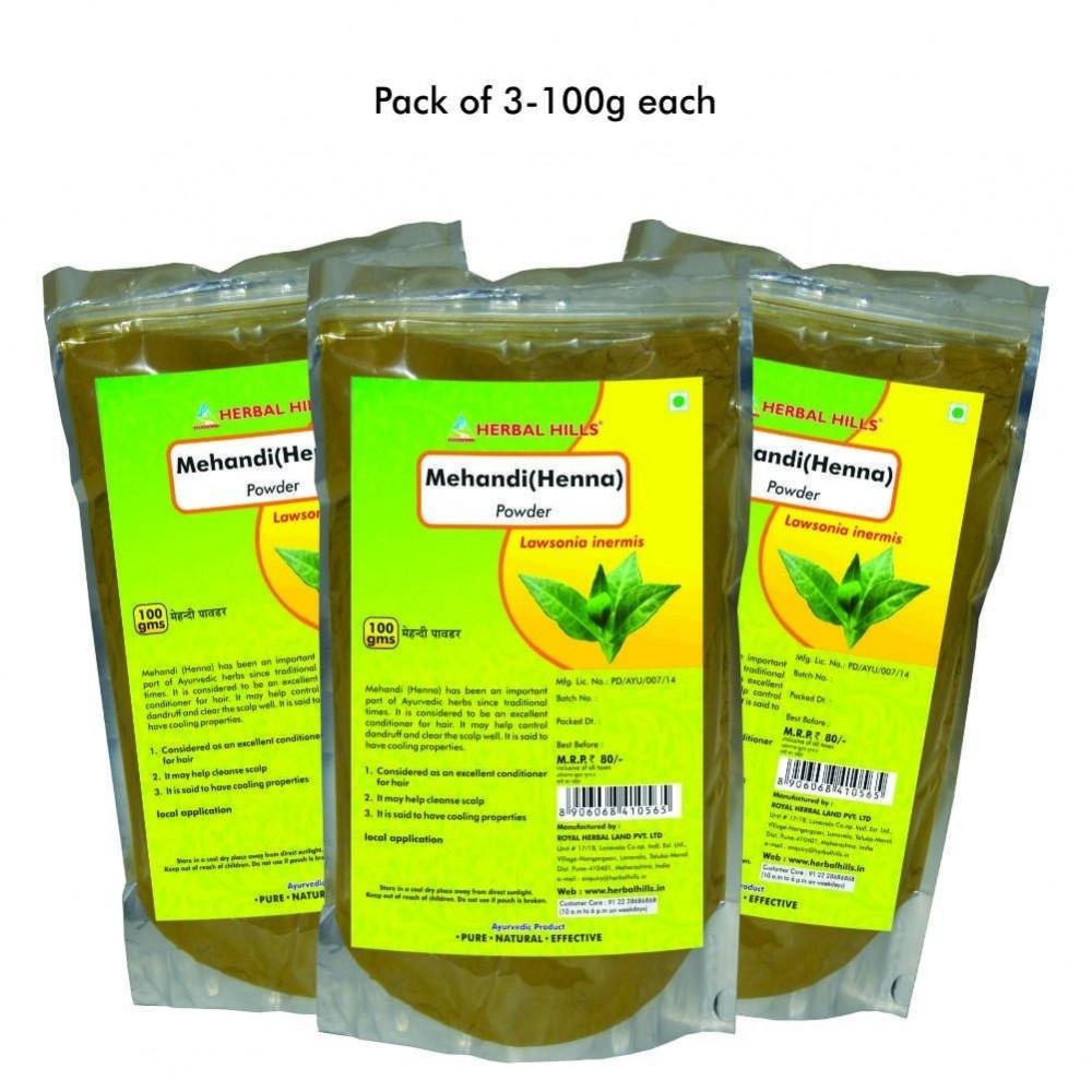 Mehandi powder, 100 gms powder