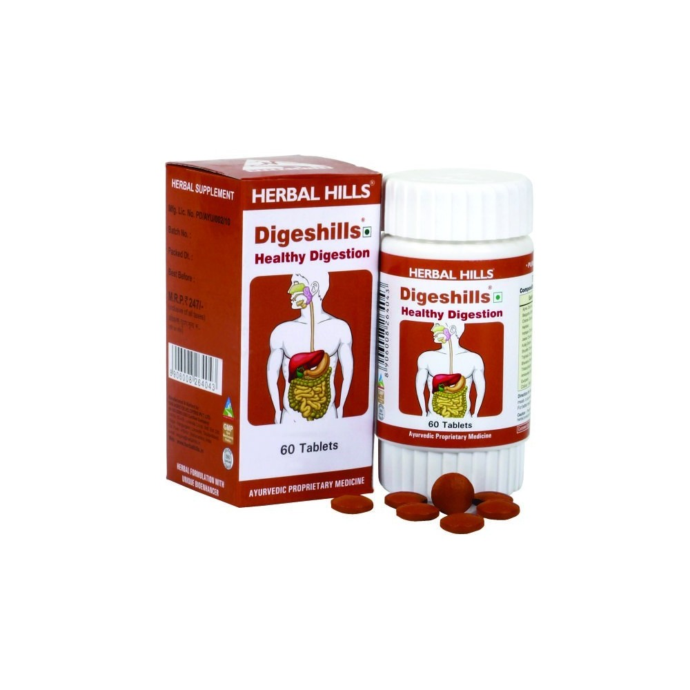 Digeshills, 60 Tablets