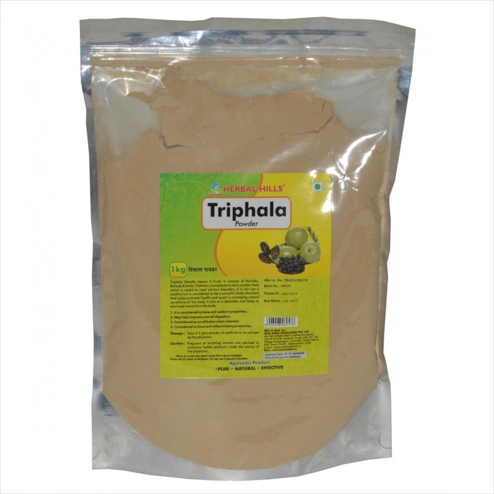 Triphala Powder, 1 kg powder