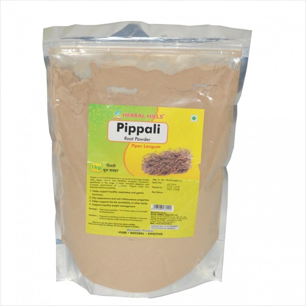 Pippali Root Powder, 1 kg powder