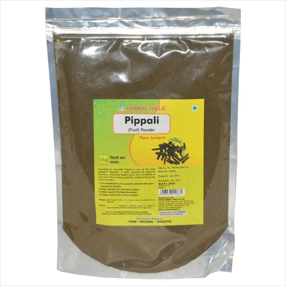 Pippali fruit powder, 1 kg powder