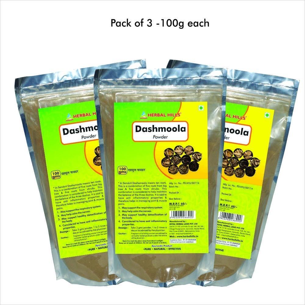 Dashamool Powder, 100 gms powder