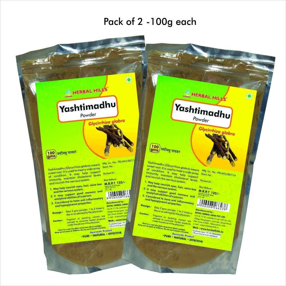 Yashtimadhu Powder, 100 gms powder