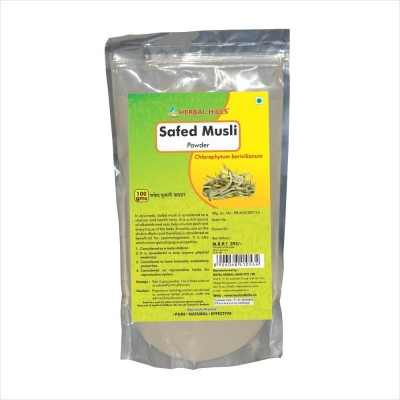 Safed Musli powder, 100 gms powder