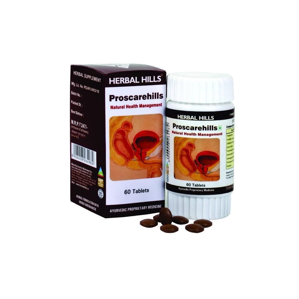 Proscarehills, 60 Tablets