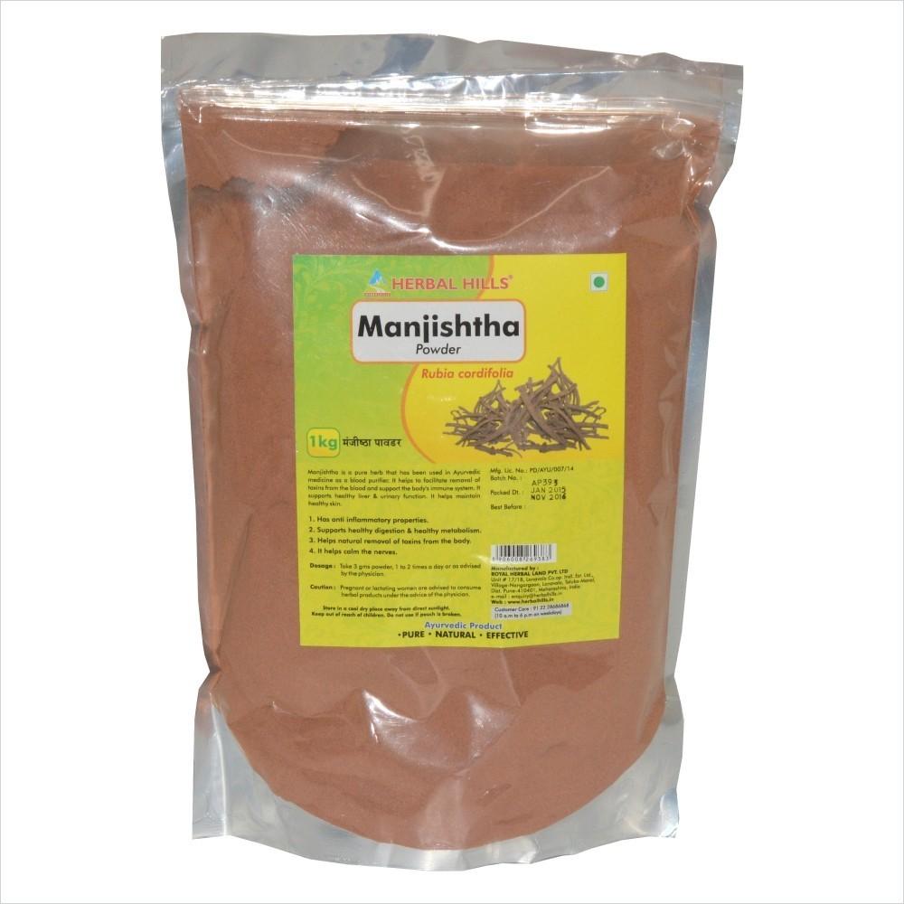 Manjishtha Powder, 1 kg powder