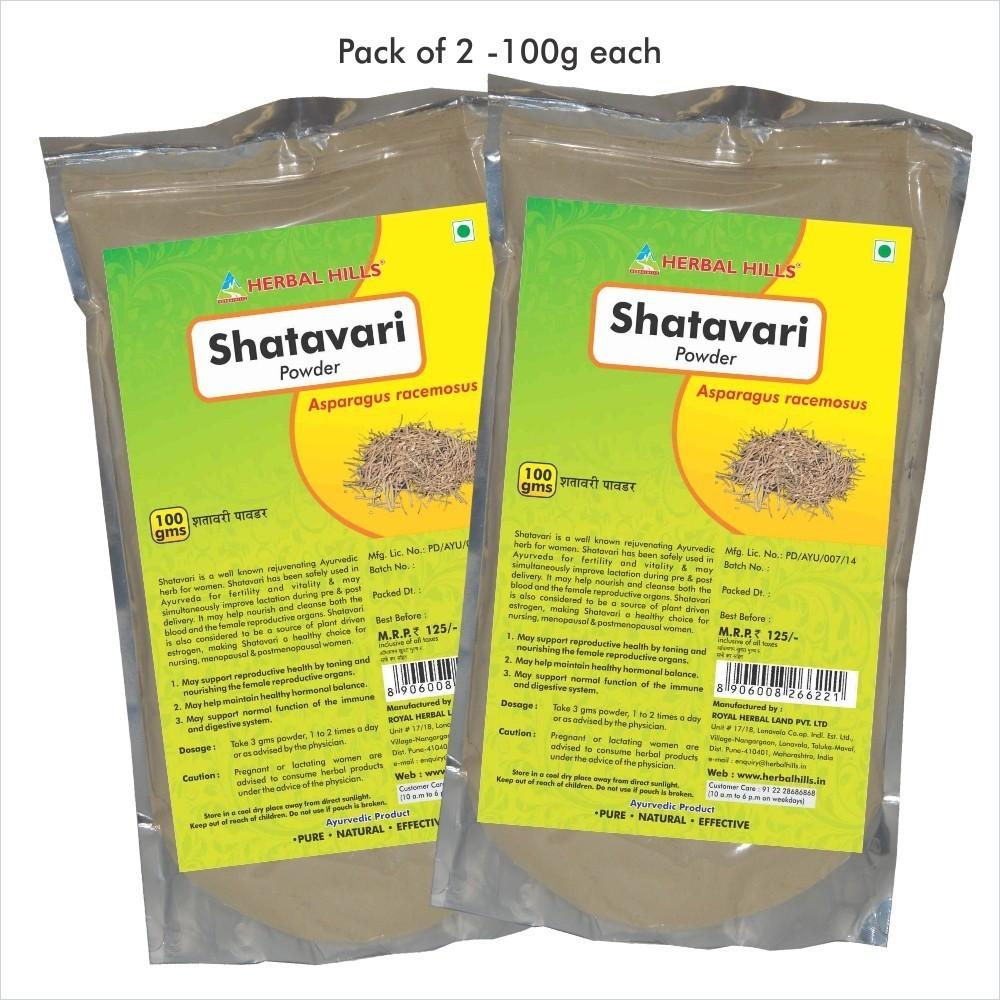 Shatavari Powder, 100 gms powder