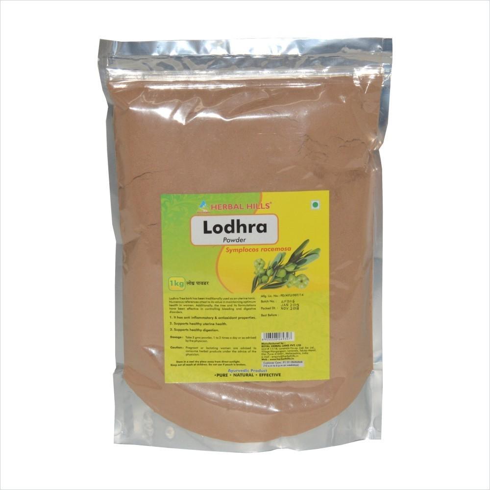 Lodhra Powder, 1 kg powder