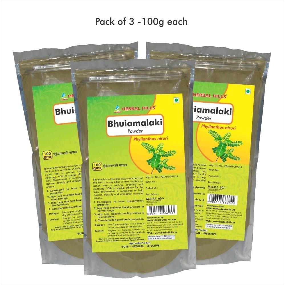 Bhuiamlaki Powder, 100 gms powder