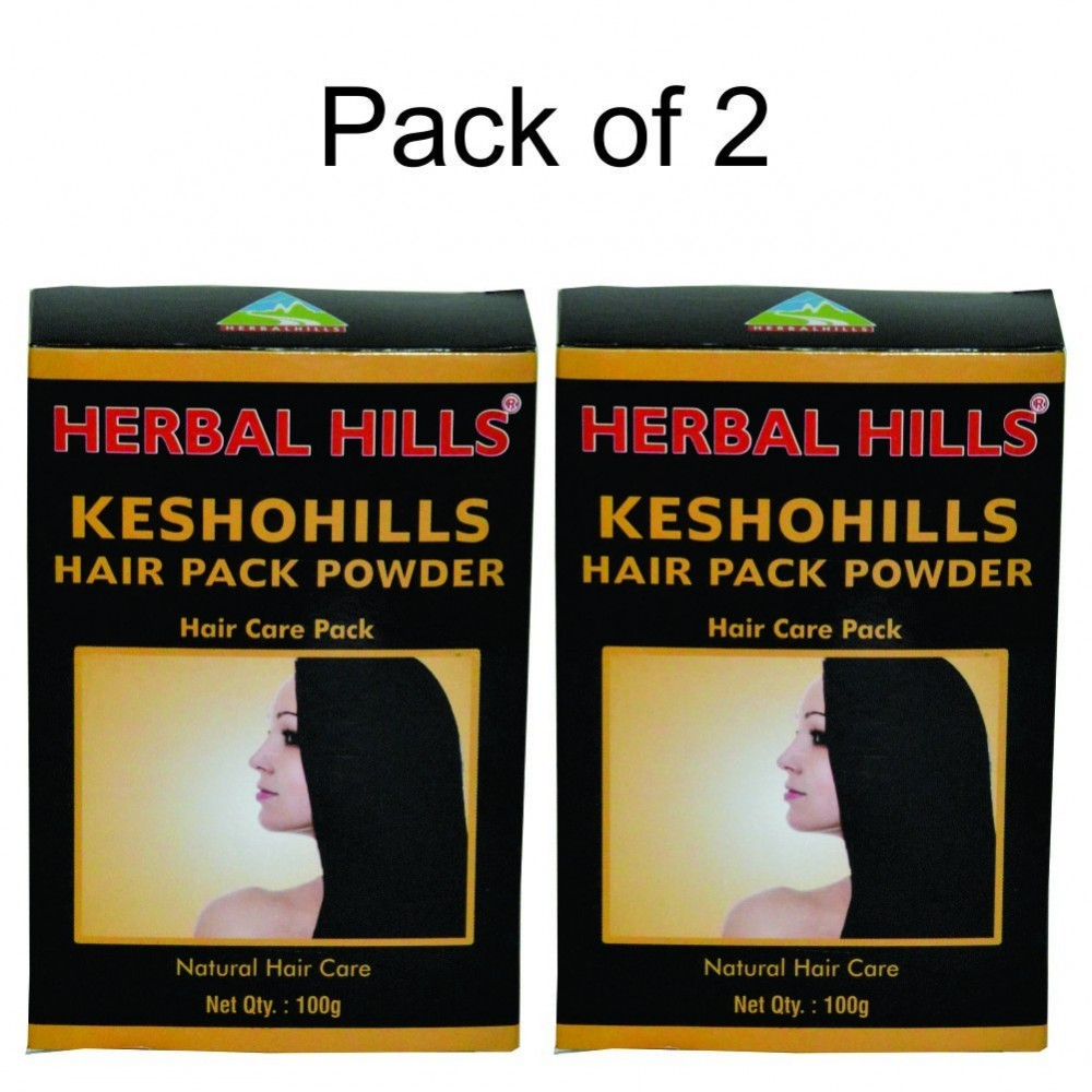 Keshohills Hair Pack Powder 100g (Pack of 2)