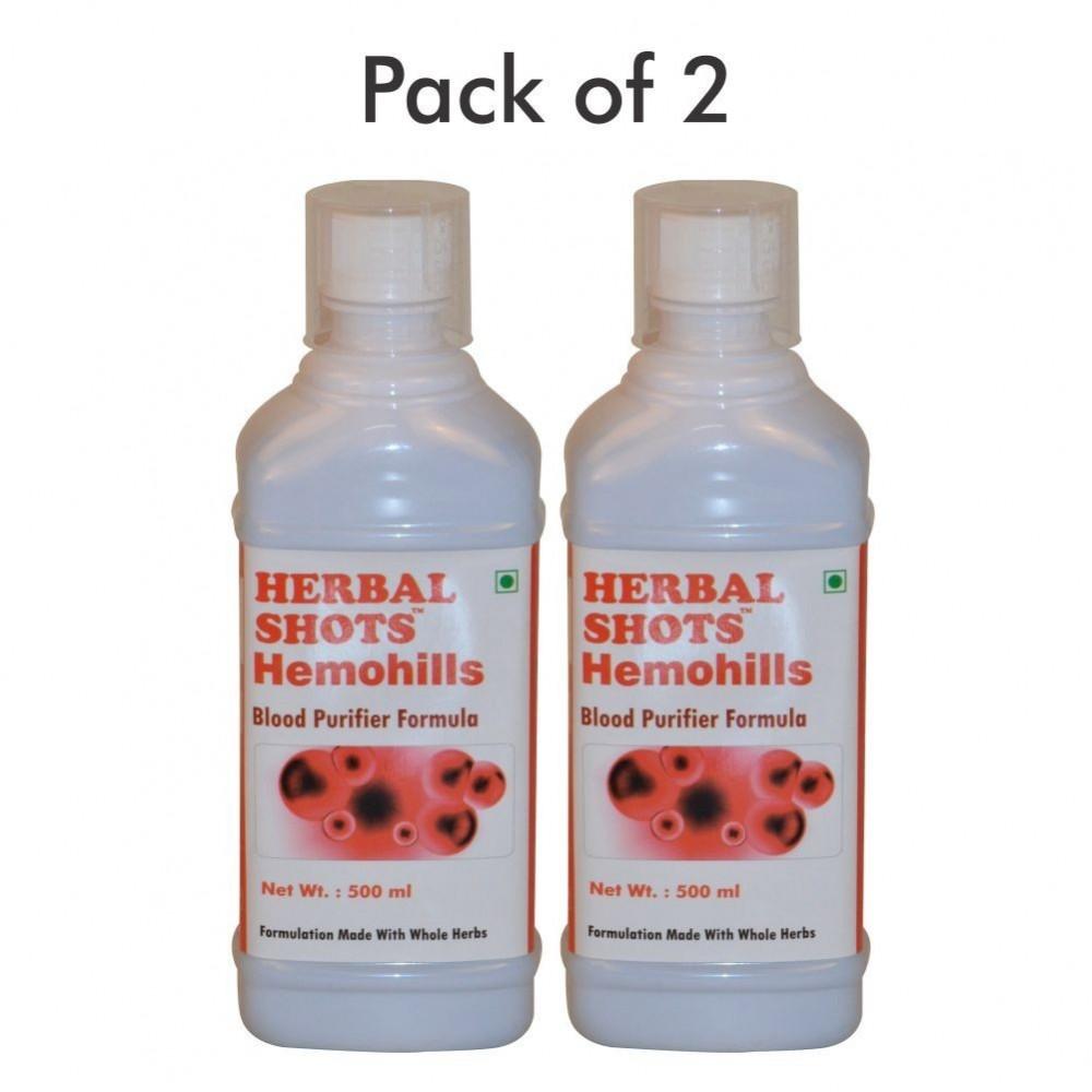 Hemohills Herbal Shots 500ml (Pack of 2)