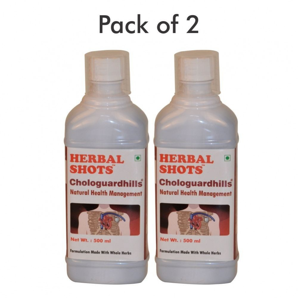 Chologuardhills Herbal Shots 500ml (Pack of 2)