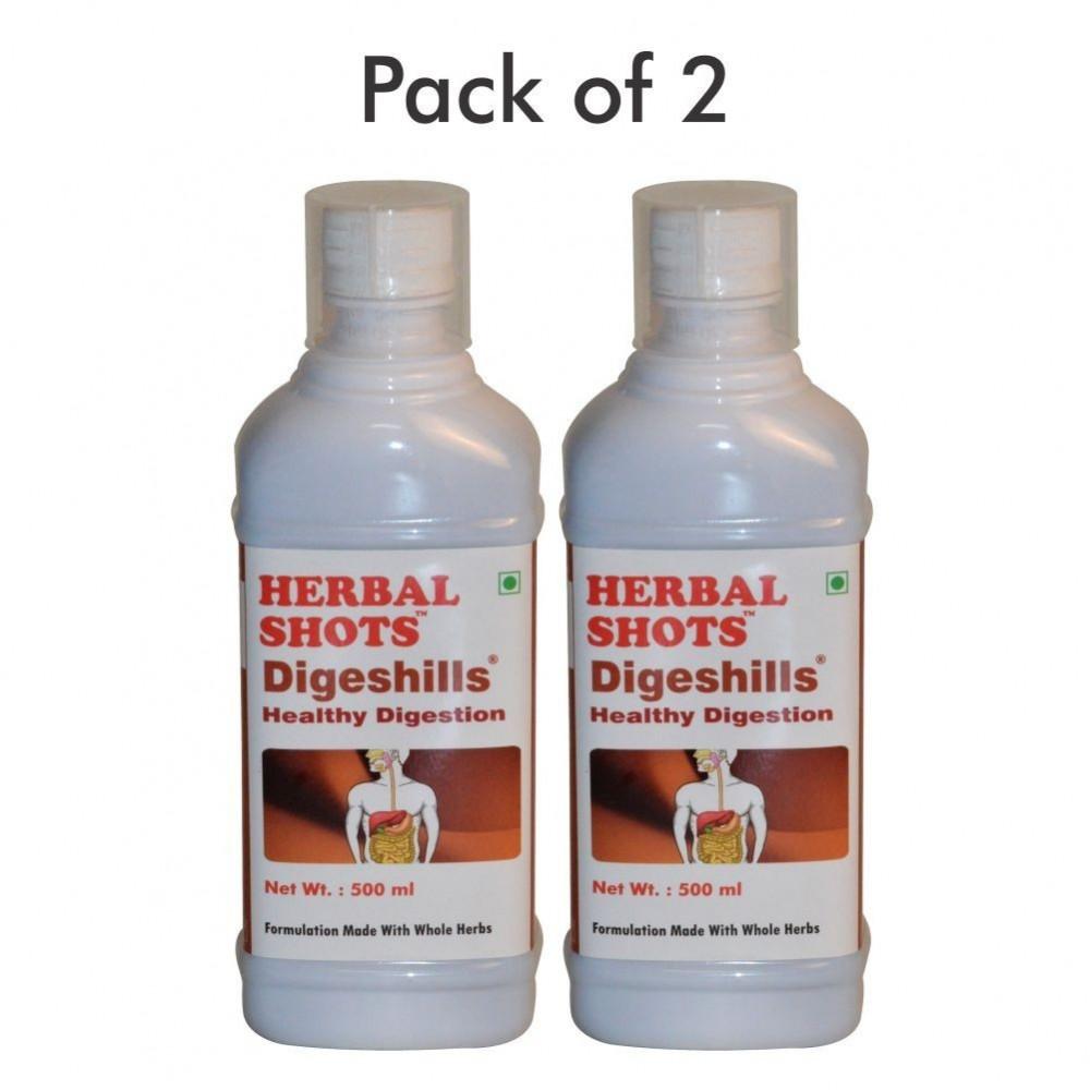 Digeshills Herbal Shots 500ml (Pack of 2)