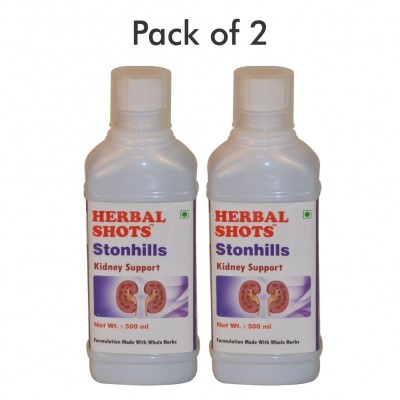 Stonhills Herbal Shots 500ml (Pack of 2)