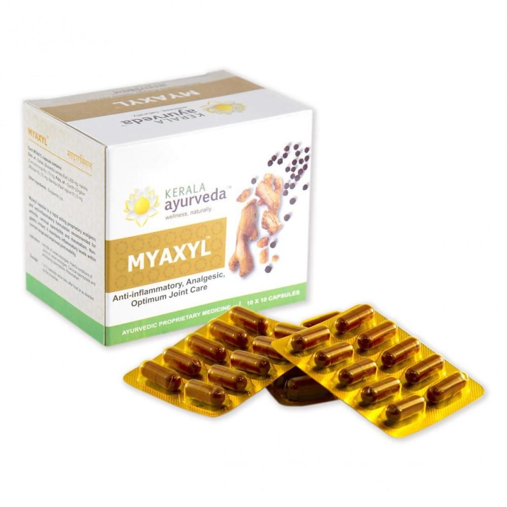 Myaxyl Capsules, 100 Tab
