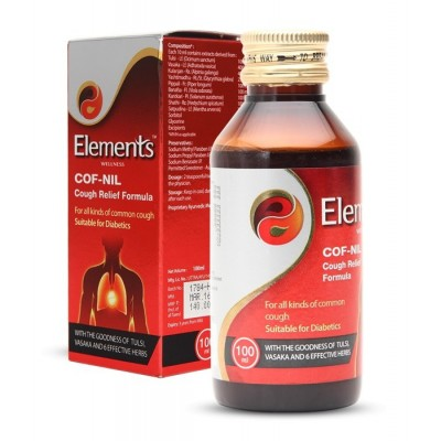 Elements Cof Nil Cough Relief Formula