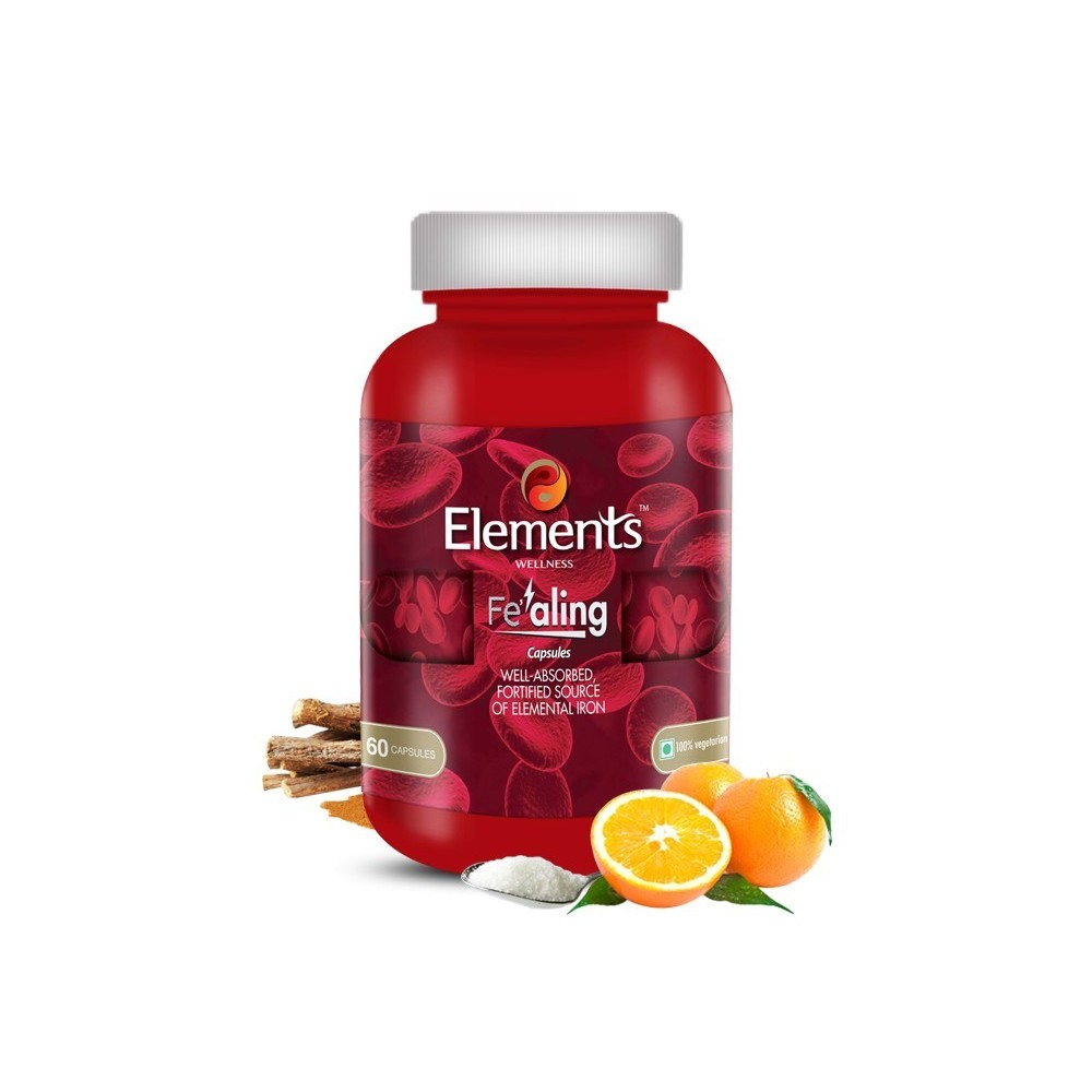 Elements Fealing Iron Capsules